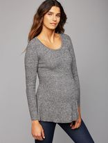A Pea in the Pod Bow Detail Maternity Sweater