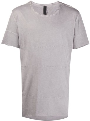 Army Of Me panelled longline T-shirt
