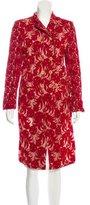 Ann Demeulemeester Double-Breasted Velvet Coat w/ Tags