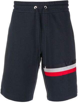 Moncler Stripe-Trim Track Shorts