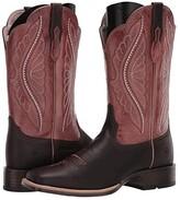 Ariat Primetime (Dark Java/Petal Pink) Cowboy Boots