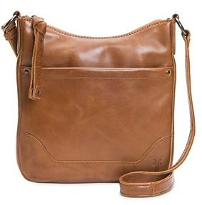 Frye Melissa Medium Leather Wallet Crossbody