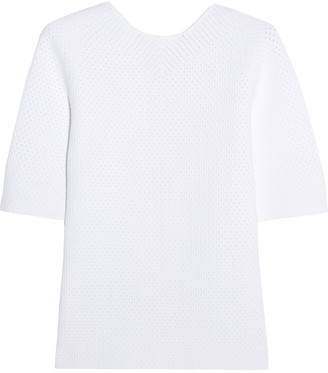 Victoria Beckham Elite Crocheted Top