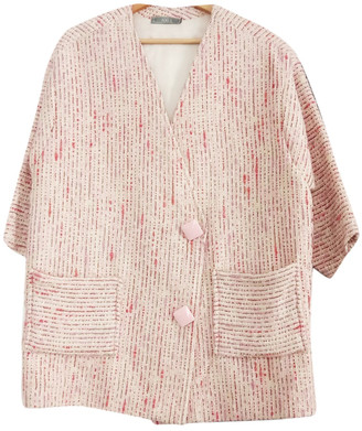 Non Signã© / Unsigned Oversize Pink Wool Jackets