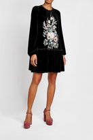 N°21 N21 Printed Velvet and Silk Dress