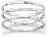 James Avery Jewelry James Avery Sterling Silver Delicate Set of 3 Forged Rings