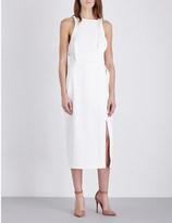 Dion Lee Whitewash Utility crepe midi dress