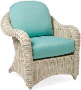 One Kings Lane Southampton Armchair, Blue