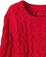Coldwater Creek Cabled pullover sweater