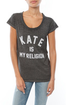 Eleven Paris Kate Is My Religion Tee