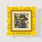 Paul Frank Framed Mika Cat Wall Art
