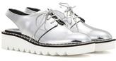Stella McCartney Scarpa Platform Cut-out Derby Shoes