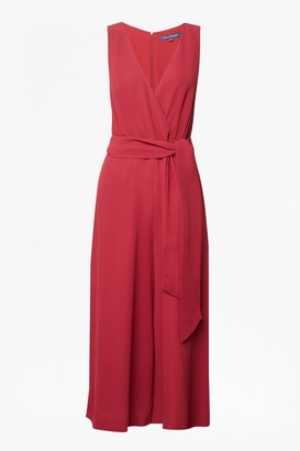 French Connection Bessie Sleeveless Crepe Jumpsuit