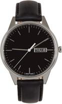 Uniform Wares Silver & Black C40 Watch