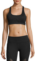Vimmia Allegiance Mesh-Back Sports Bra, Black
