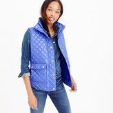 J.Crew Shiny quilted field puffer vest