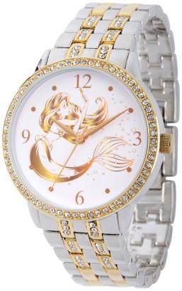 Disney Princess Ariel Women's Two-Tone Watch