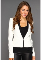 BCBGMAXAZRIA Guy Tuxedo Jacket (Off White) - Apparel