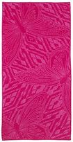 JCPenney jcp homeTM Tahitian Butterfly Pink Beach Towel