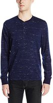 Jack Spade Men's Bridgton Long Sleeve Henley Shirt