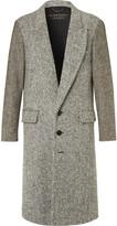Burberry - Runway Donegal Herringbone And Wool-tweed Coat
