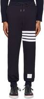 Thom Browne Navy Classic Lounge Pants