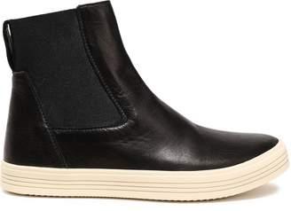 Rick Owens Mastodon Leather High-top Sneakers