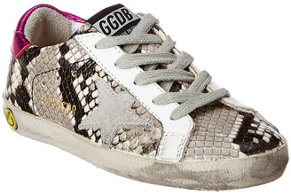 Golden Goose Superstar St.Snake Ice Leather Sneaker