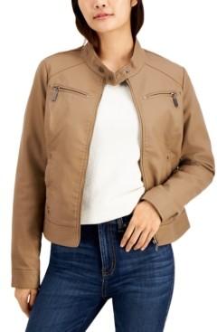 Joujou Jou Jou Juniors' Faux-Leather Jacket