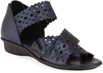 Sesto Meucci Evie Perforated Comfort Sandals