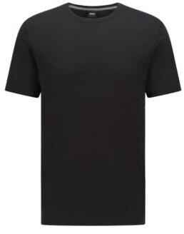 HUGO BOSS Regular Fit T Shirt In Soft Cotton - Black