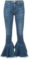 Citizens of Humanity flared cropped jeans - women - Cotton/Polyurethane - 28