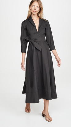 By Any Other Name 3/4 Sleeve Wrap Around Dress