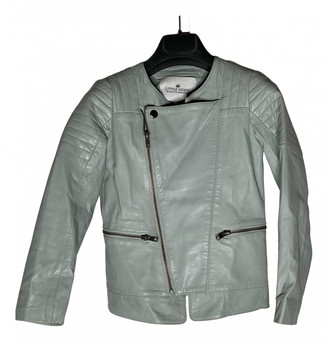 Little Remix Turquoise Leather Jackets & Coats