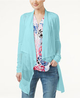 INC International Concepts Draped Illusion Cardigan, Only at Macy's
