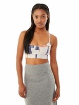 Alternative Knock Out Printed Stretch Bustier