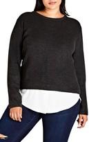 City Chic Plus Size Women's Promise Me Sweater