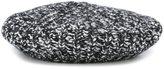 Moncler knitted beret - women - Acrylic/Polyamide/Viscose/Alpaca - One Size