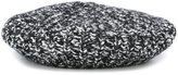 Moncler knitted beret - women - Acrylic/Wool/Alpaca/Polyamide - One Size