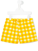 Marni checked shorts