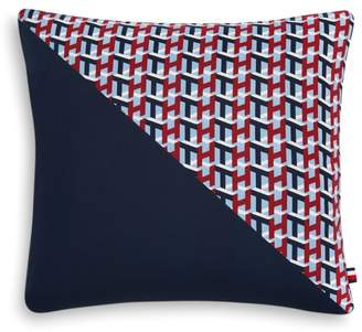 "Tommy Hilfiger Monogram Decorative Pillow, 18"" x 18"""