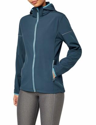 Intimuse Women's Long Sleeve Jacket - Blue - UK 14