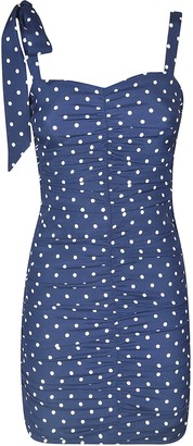P.A.R.O.S.H. Sleeveless Short Dotted Dress