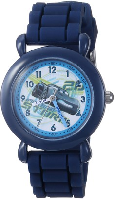 Disney Boys Cars 3 Analog-Quartz Watch with Silicone Strap