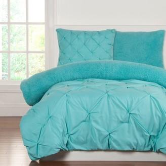 Crayola Playful Plush Robin's Egg BlueFull/Queen Comforter Set