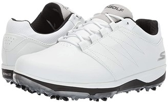 Skechers GO GOLF Pro 4 (White/Black) Men's Shoes