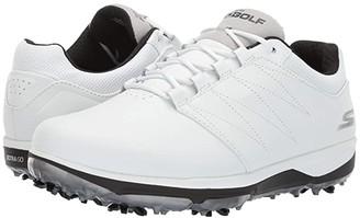 Skechers Go Golf GO GOLF Pro 4 (White/Black) Men's Shoes