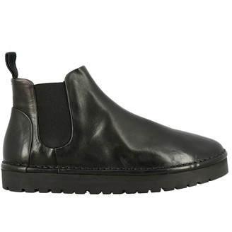 Marsèll Sancrispa Leather Ankle Boots