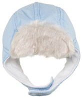 Mayoral Blue Trapper Hat with Teddy Fleece Lining
