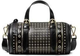MICHAEL Michael Kors Stanton Grommet Leather Barrel Bag